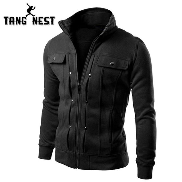 Great Buy $11.99, Buy TANGNEST Handsome 2017 Top Slim Men Sweatshirt Casual Men Tracksuits Comfortable Popular For Male 5 Colors Asian Size MWW598