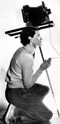 Photojournalist Margaret Bourke-White, the first female war correspondent.