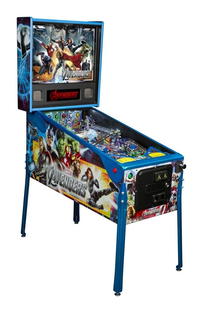 Limited Edition Stern Avengers Pinball Machine