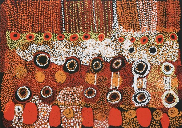 Jimmy-Bakers-Kalaya-Tjukurpa-2009-Emu-creation-story-small1.jpg (591×416)