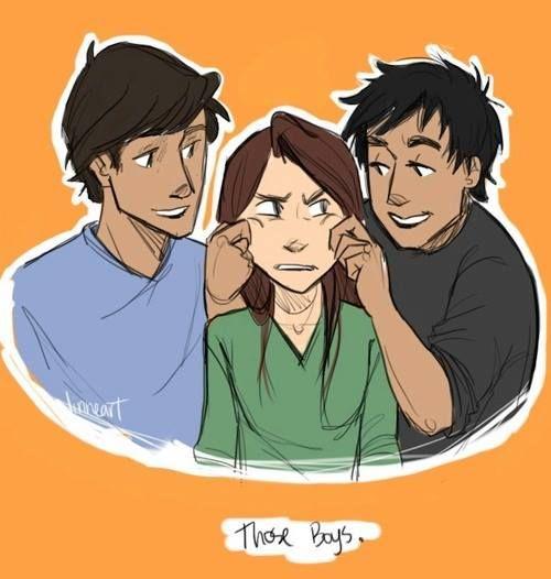 Ren, Kelsey and Kishan!!! drawing (Tiger's curse)