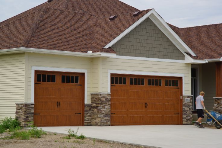 North Central Doors we installed. & 8 best Aker Doors - Brown Carriage House Doors images on Pinterest ...
