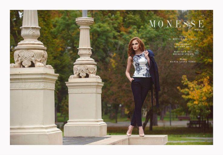 Monesse PhotoShooting   Toamna 2014