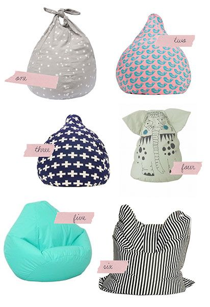 best bean bags for kids!  been looking for some cool ones!