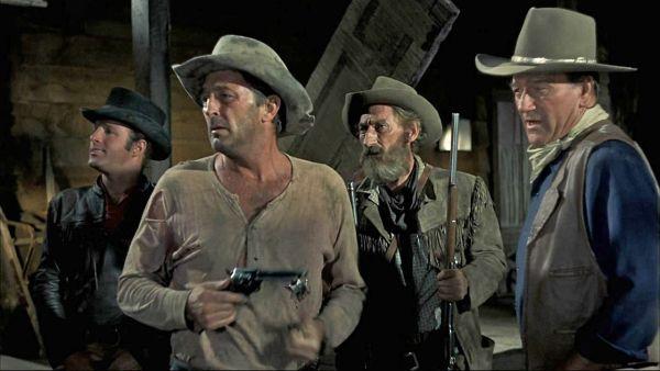 """El Dorado""- James Caan,Robert Mitchum, Artur Hunnicutt, John Wayne - 1966.   -5.jpg (600×338)"