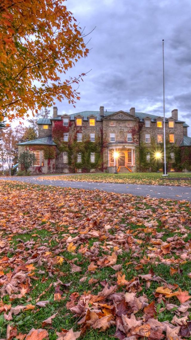Fall in #Fredericton, NB Canada Government House