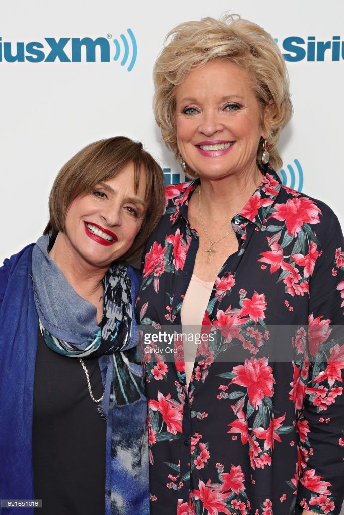 SiriusXM's War Paint Town Hall with actresses Patti LuPone and Christine Ebersole at SiriusXM Studios on June 2, 2017 in New York City.