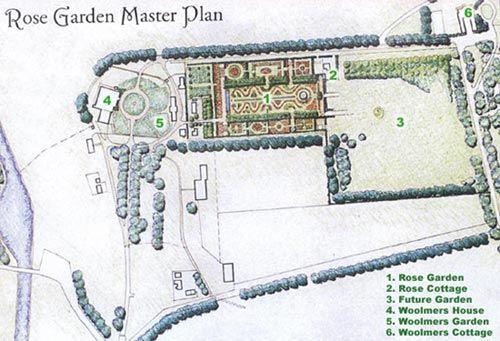 Rose Garden — Woolmers Estate