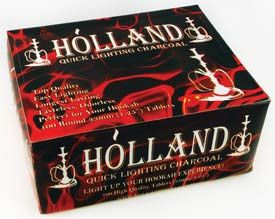 Holland Charcoal Tablet Box 33mm (100 tablets)