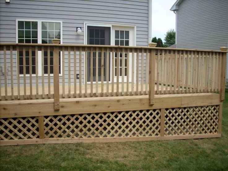 27 Best Rear Deck Images On Pinterest Decks Terrace And