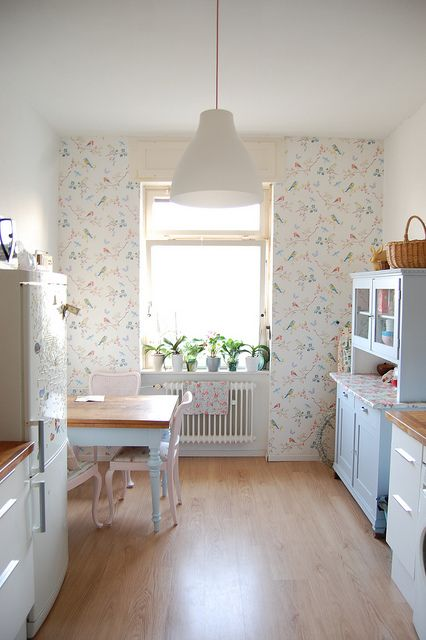 kitchen by whereyourheartis, via Flickr