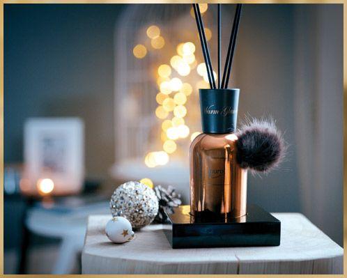 Dieses edle Design und der angenehme Duft sorgen für weihnachtliche Stimmung. #weihnachten #raumduft #ipuro