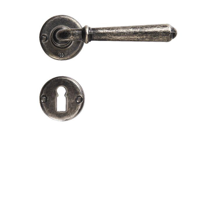 Poignée ELBA à clé à rosace - Portes
