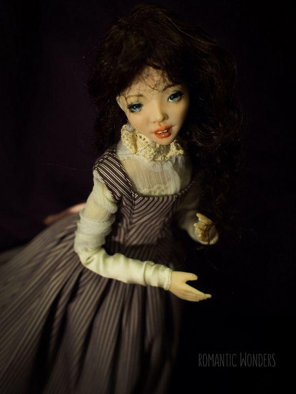 ''Lady'' handmade Ooak doll by Romantic Wonders