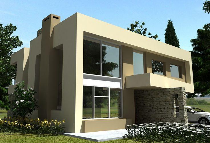 Arquitectos para casas en country casa fachadas for Arquitectos para casas