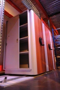 Estanterías Móviles, ideal para el recupero de espacios de archivos en oficinas
