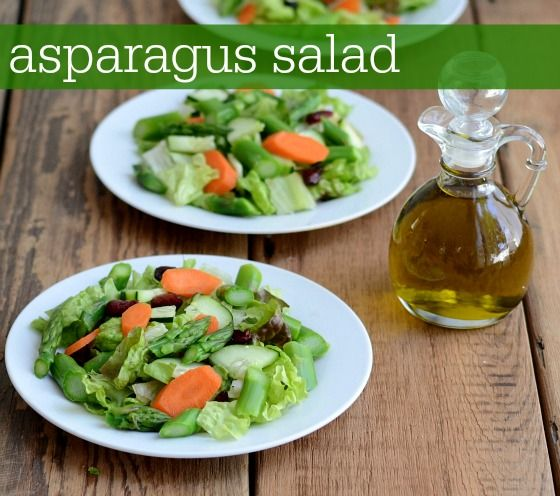 asparagus salad from Untrained Housewife   *Clean Eating Recipes - Gr ...