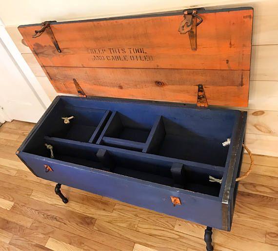 Refurbished Vintage Tool chest / Tool box SALE