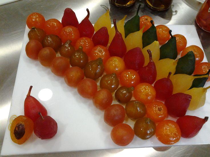 arcobaleno di frutta candita Omar Busi