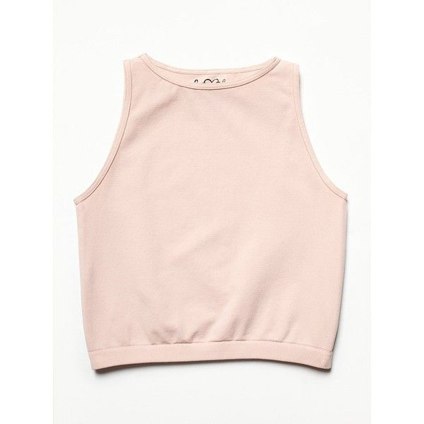 Free People High Neck Seamless Crop found on Polyvore
