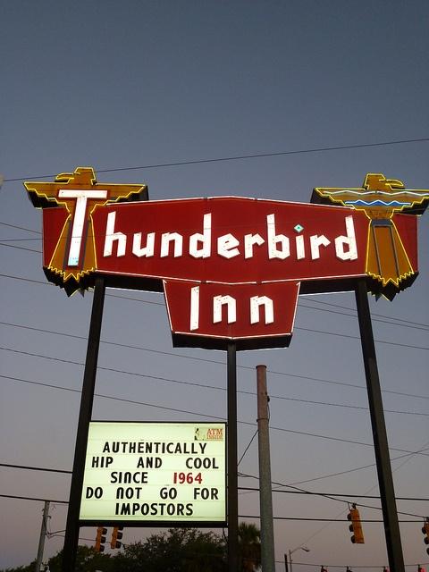 Thunderbird Inn, Savannah.