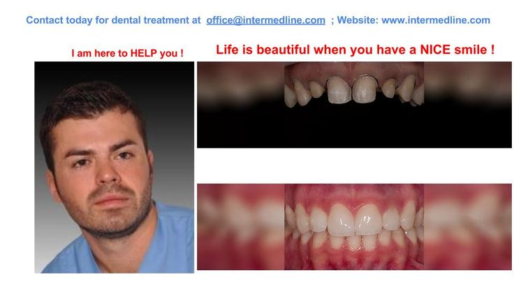 Best dental office in Romania to restore the health and beauty of your teeth , with the help of advanced cosmetic dentistry, restorative dentistry and with specialists dentists.  Visit website and contact today for your dental treatment at office@intermedline.com; : +40 311.073.167/ +40 730.482.672; website:http://www.intermedline.com/dental-clinics-romania/ #dentaltourism #dentaltourisminRomania #dentist #dentistinRomania #dentalclinic #dentalclinicinRomania #dental #dentalinRomania…
