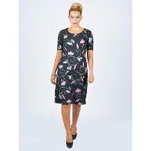 Nidya Moda büyük beden Simli  Pop Elbise-4032
