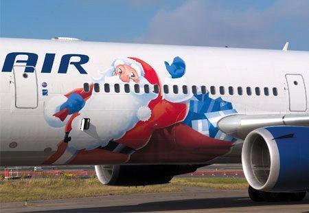 FinnAir's Santa Claus