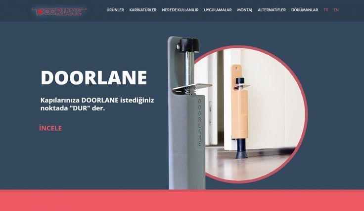 Doorlane Kontrol Panelli Web Sitesi - Silüet Tanıtım Web Tasarım