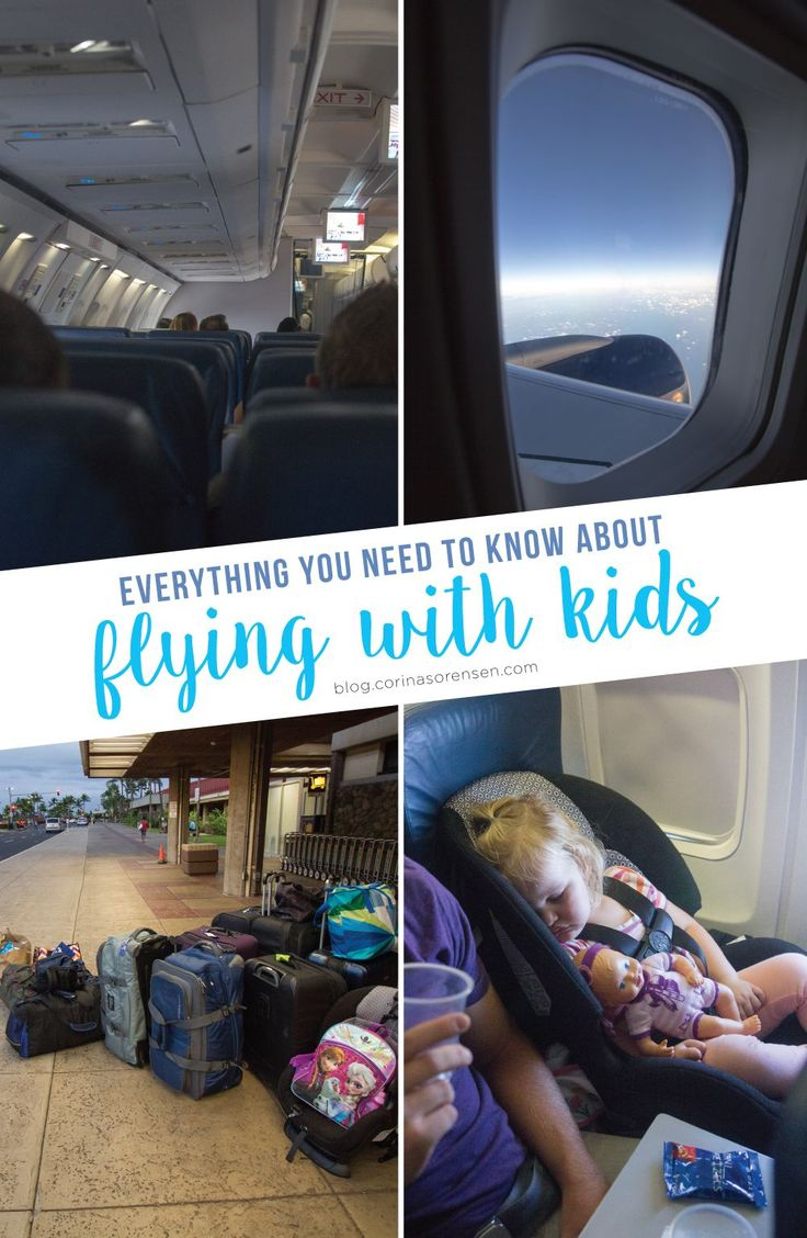 Everything you need to know about flying with kids. Great resource from what to bring and how to prepare for the flight to tips and tricks for surviving the flight itself.