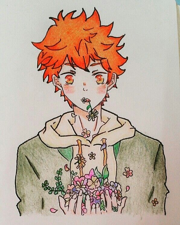 This is a cover of Hinata by me~~♥