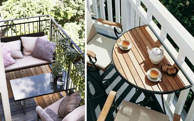 Ideas para decorar terrazas y balcones - Decofilia.com