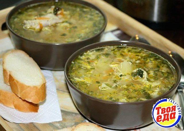 Для меня это был довольно необычный суп, раньше я не готовила куриный суп с яйцом.. и очень зря) Отличный суп, рекомендую!