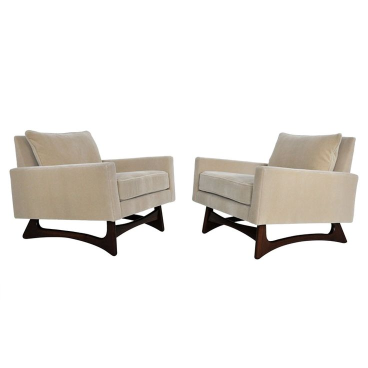 1stdibs | Adrian Pearsall Sculptural Lounge Chairs