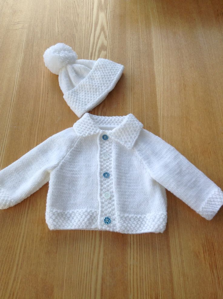 Little jacket and hat for Hector