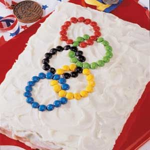 olympic cake: Chocolate Cake Recipes, Olympic Cake, Olympic Ring, Olympics Party, Chocolates, Olympic Games, Chocolate Cakes, Champion Chocolate, Dessert