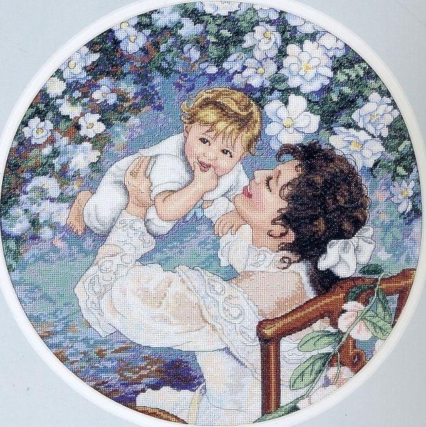"""Набор для вышивки крестом """"Материнское счастье"""" арт. 35139 Dimensions"""