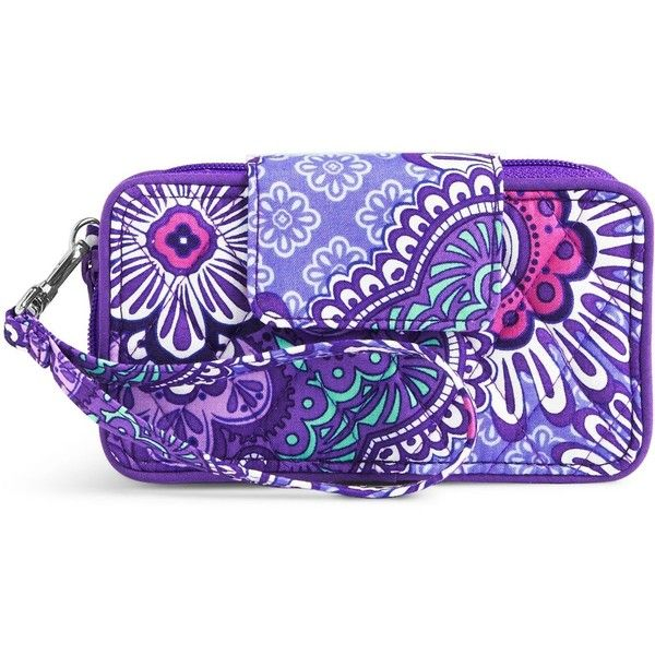 Vera Bradley Smartphone Wristlet for iPhone 6 in Lilac Tapestry (£36) ❤ liked on Polyvore featuring accessories, tech accessories, lilac tapestry, wristlet smartphone, vera bradley wristlet, iphone wristlet, smart phone wristlet and smartphone wristlet