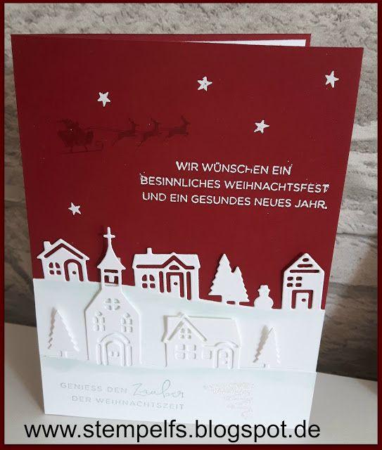 Stempel, Farben & Spaß: Weihnachten daheim mit Stampin' UP!