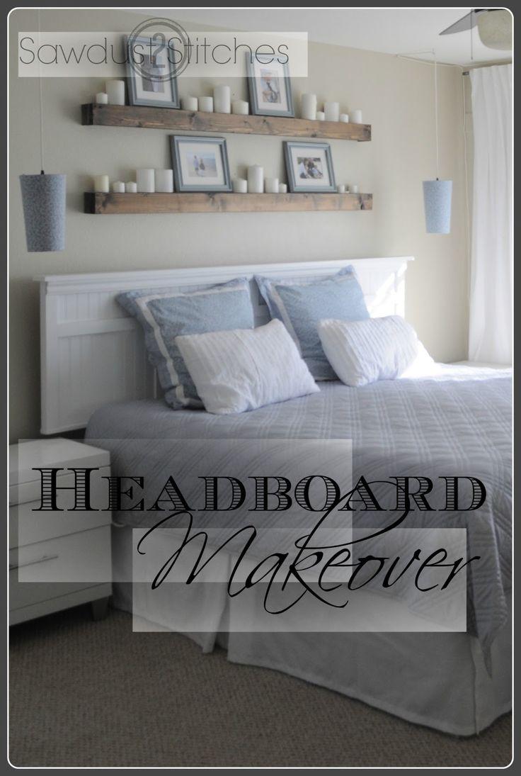 Headboard makeover (Farben und Bilderleiste)