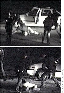 Rodney King was an American taxi driver who became nationally known after being beaten by Los Angeles Police Department officers following a high-speed car chase on March 3, 1991.
