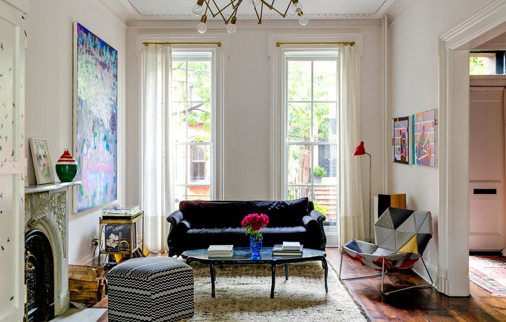 Mike D in Brooklyn - living room