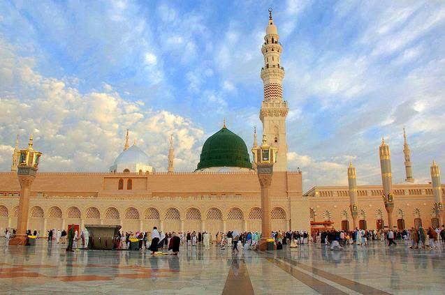 م ری خاک بھی ا ڑے گی با ادب ت ری گ لی میں Medina Mosque Masjid Al Masjid An Nabawi