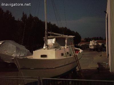 #Imbarcazione non #immatricolata in #fasciame di pino, #completamente #restaurata, 10 #pers., 5 p. #letto, WC, #Ecosc., #,plotter, whf, #cucina, #frigo,, ... #annunci #nautica #barche #ilnavigatore