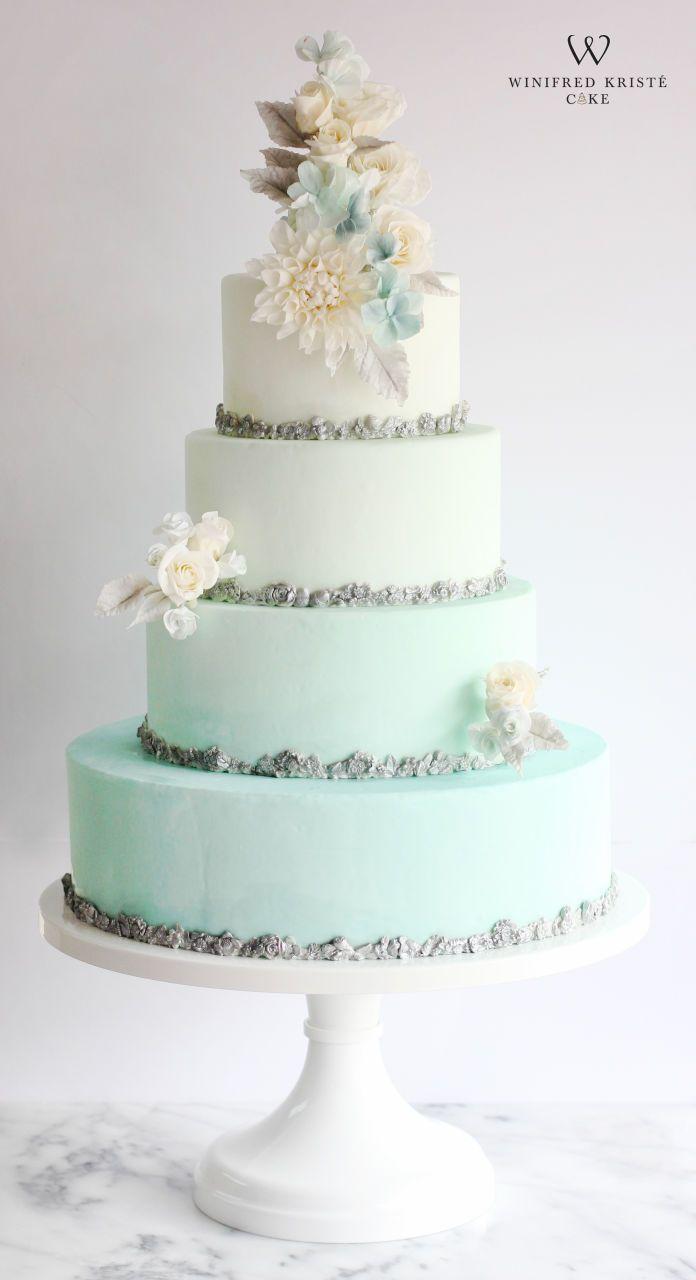 The 658 best Wedding Cakes images on Pinterest | Cake wedding ...