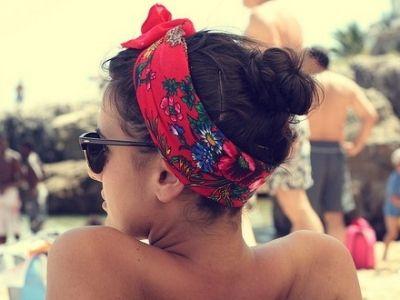 9 Headwraps to Tame Your Summer Beach Hair ...: Beaches Hair, Head Scarfs, Head Wraps, Summer Hair, This Summer, Hairstyle, Headbands, The Beaches, Hair Scarfs