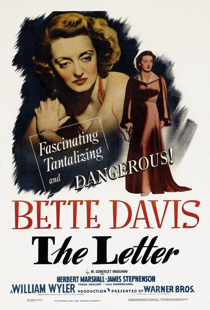 The Letter, written by Somerset Maugham, directed by