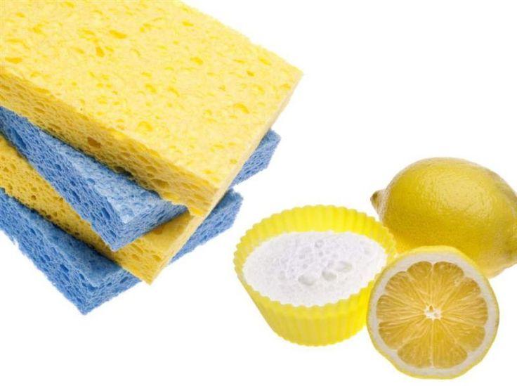 Husmorstips: Städa utan giftiga kemikalier. Bakpulver och citroner kommer man långt med!