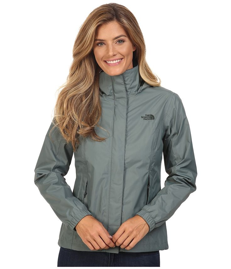 THE NORTH FACE THE NORTH FACE - RESOLVE JACKET (BALSAM GREEN (PRIOR SEASON)) WOMEN'S COAT. #thenorthface #cloth #