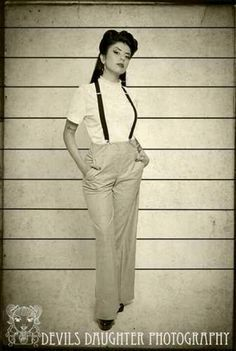 Zoot Suit Era Women's Clothing | Pachuca Style.